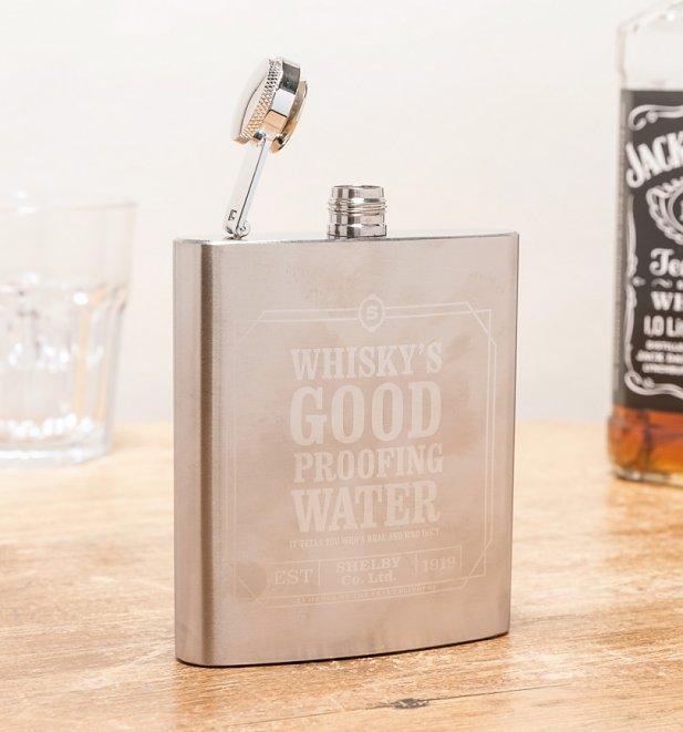 Peaky Blinders Whiskey's Good Hip Flask