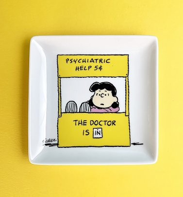 Peanuts Lucy Help Trinket Tray