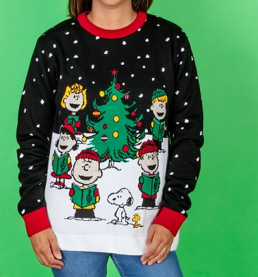 Peanuts Snoopy Knitted Christmas Jumper