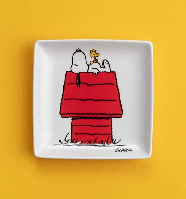 Peanuts Snoopy Doghouse Trinket Tray