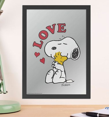 Peanuts Snoopy Love Mirror