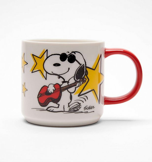 Peanuts Snoopy Rock Star Mug