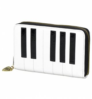 Keyboard Zip Around Purse from Tatty Devine
