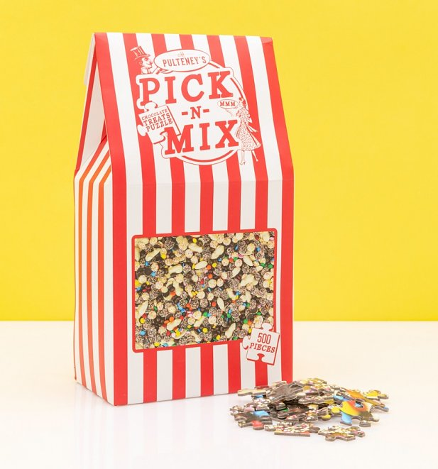 Pick N Mix 500 Piece Jigsaw Puzzle