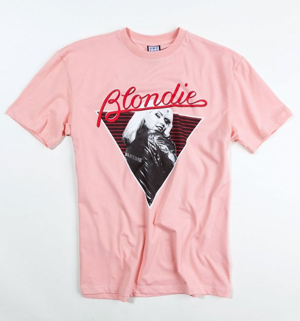 Pink Blondie '74 T-Shirt from Amplified