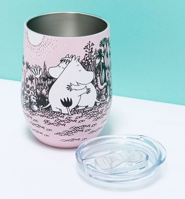 Pink Moomin Love Travel Cup from House Of Disaster