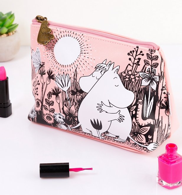 Pink Moomin Love Make Up Bag from House of Disaster