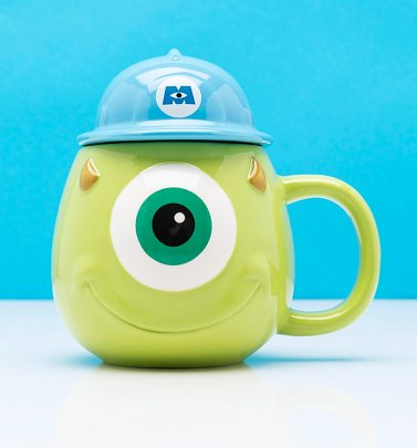 Pixar Monsters Inc Mike Shaped Mug
