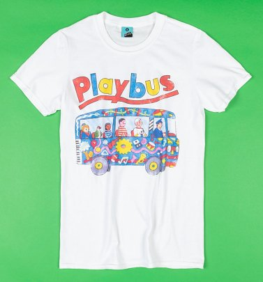 Playbus White T-Shirt