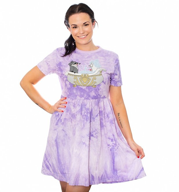 Pocahontas Bath Tie Dye Dress from Cakeworthy
