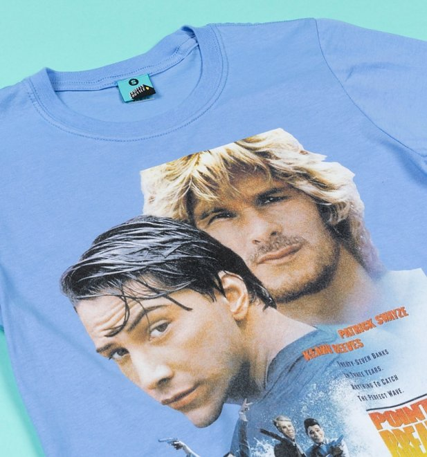 Point Break Movie Poster Blue T-Shirt