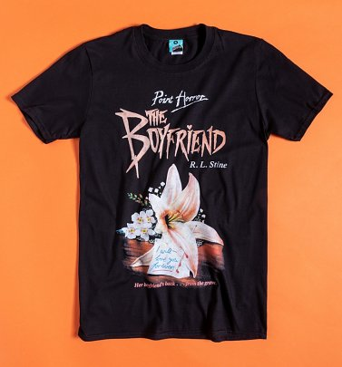 Point Horror The Boyfriend Black T-Shirt