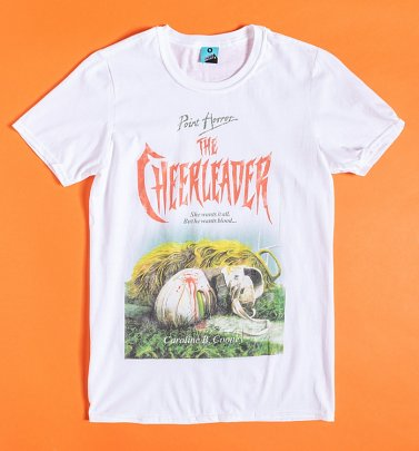 Point Horror The Cheerleader White T-Shirt