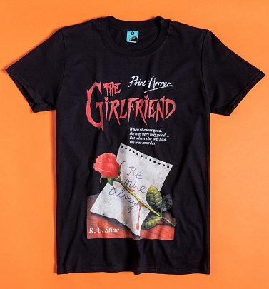Point Horror The Girlfriend Black T-Shirt