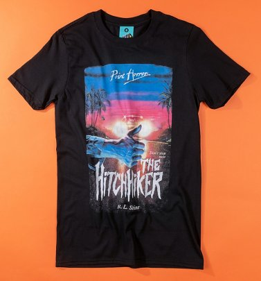 Point Horror The Hitchhiker Black T-Shirt