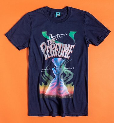 Point Horror The Perfume Navy T-Shirt