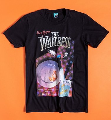 Point Horror The Waitress Black T-Shirt