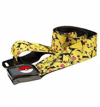 Pokemon Airplane Style Pikachu Belt