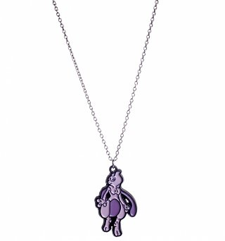 Pokemon Mewtwo Enamel Pendant Necklace
