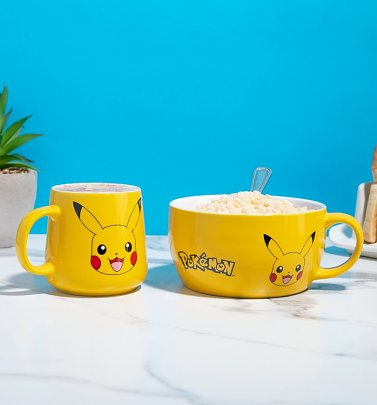 Pokemon Pikachu Breakfast Set