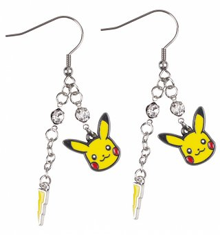 Pokemon Pikachu Drop Earrings