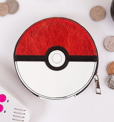 Pokemon Pokeball Coin Purse