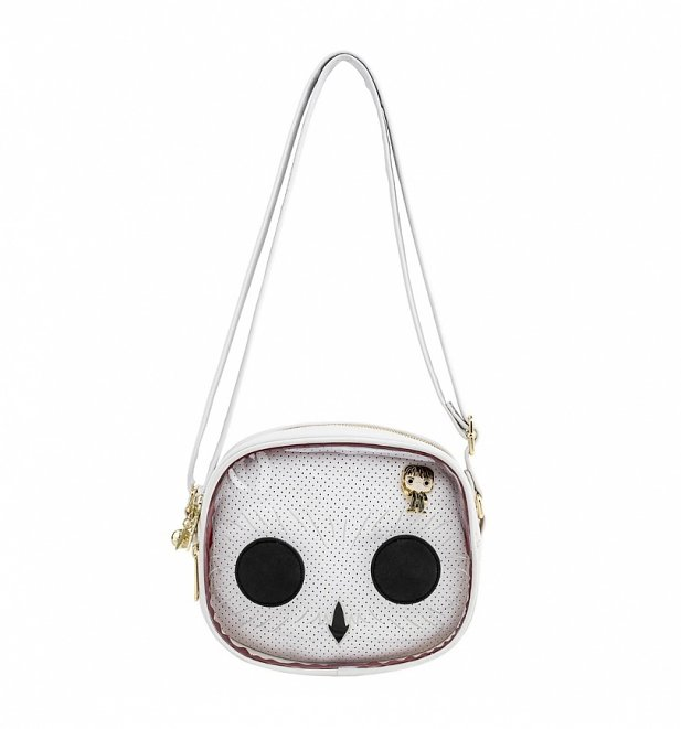 Pop by Loungefly Harry Potter Hedwig Pin Trader Crossbody Bag