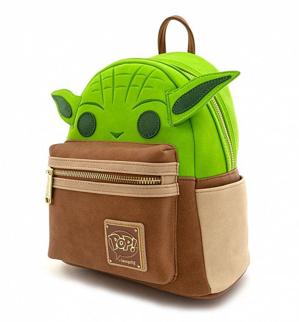 Pop by Loungefly Star Wars Yoda Cosplay Mini Backpack