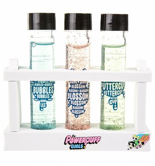 Powerpuff Girls Glitter Bubble Bath Test Tube Set