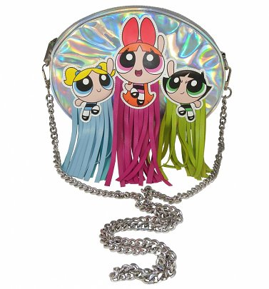 Powerpuff Girls Tassels Cross Body Bag
