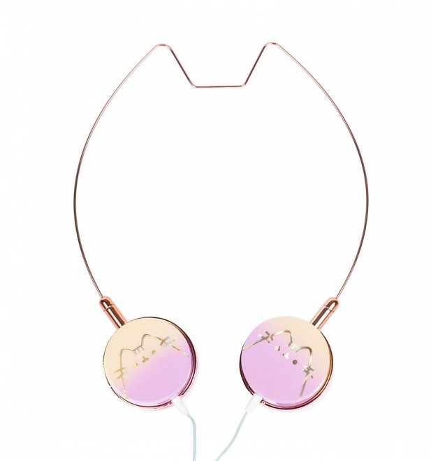Pusheen Cat Shaped Headphones