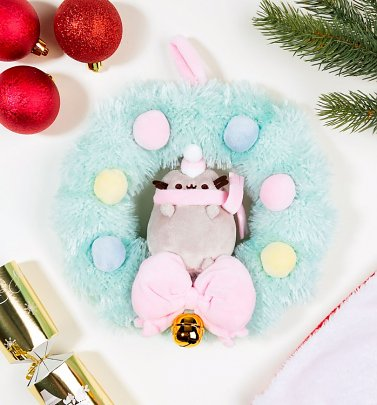 Pusheen Christmas Wreath