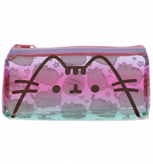 Pusheen Clear Printed Pencil Case