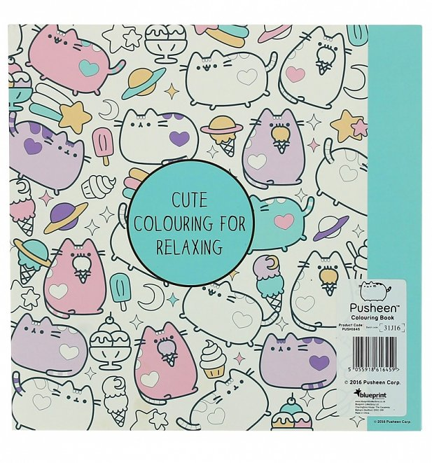 Pusheen Colouring Book