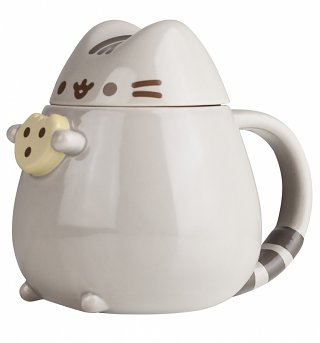 Pusheen Cookie 3D Mug With Lid