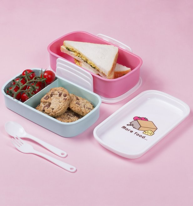 Pusheen Food Set Of 2 Lunch Boxes