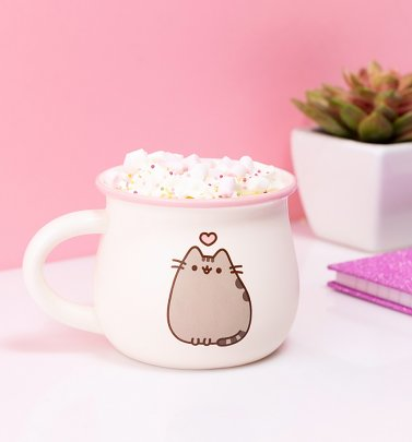Pusheen Heart Mug