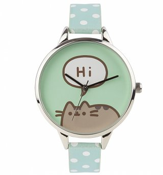 Pusheen Hi Polka Dot Analogue Watch