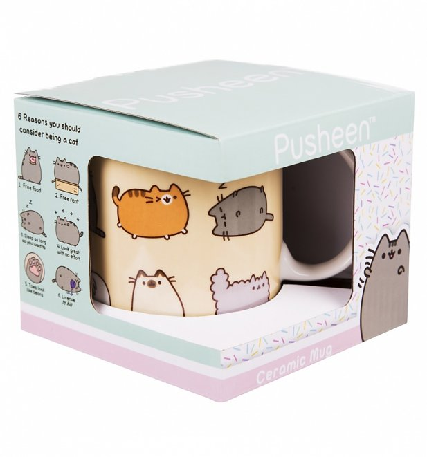Pusheen I Love Kitties Mug