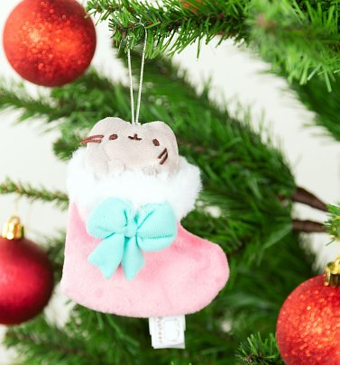 Pusheen Stocking Christmas Ornament