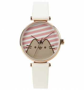 Pusheen Striped Analogue Watch