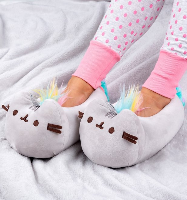 Pusheen Unicorn 3D Slippers