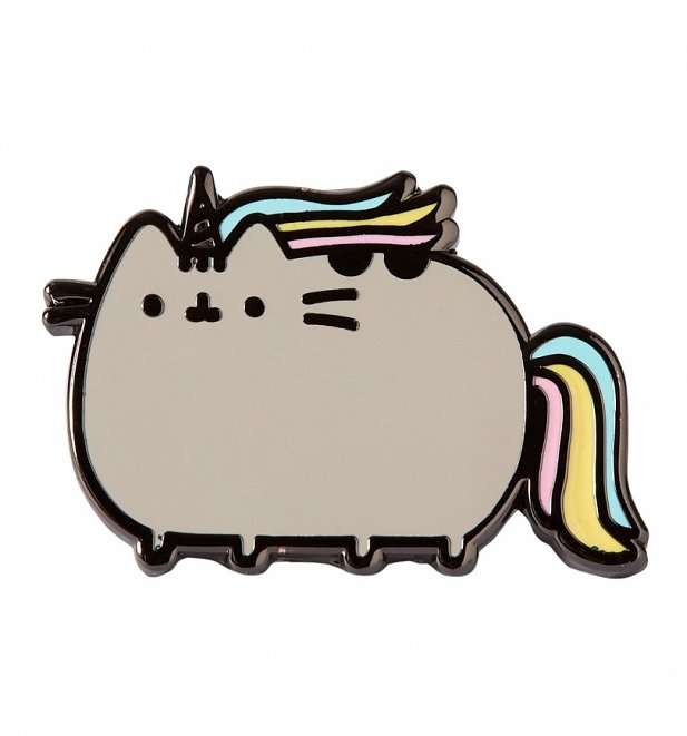 Pusheenicorn Enamel Pin from Punky Pins