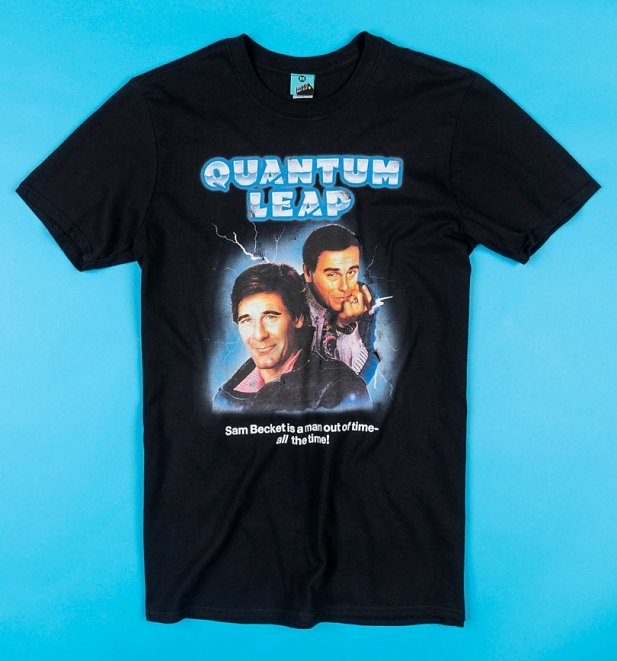 Quantum Leap Black T-Shirt