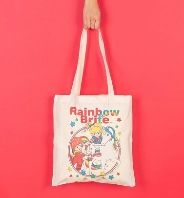 Rainbow Brite And Starlite Tote Bag