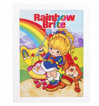 Rainbow Brite Band Art Print