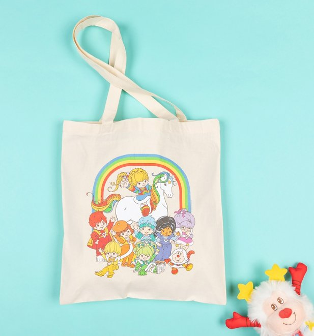 Rainbow Brite Gang Tote Bag