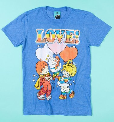 Rainbow Brite Love Blue T-Shirt