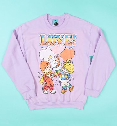 Rainbow Brite Love Orchid Sweater