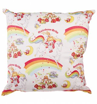Rainbow Brite Patterned Cushion
